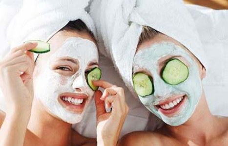 Máscara para fechar os poros do rosto