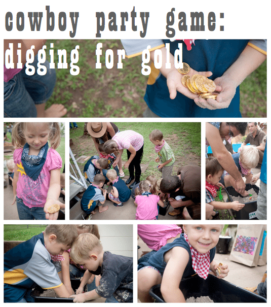 adult cowboy game party