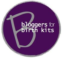 bloggers for birth kits logo