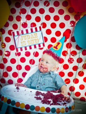 Judah's First Birthday Circus Party-23