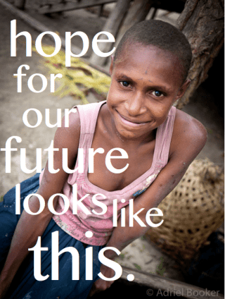 Hope for our future looks like this. // 31 Days of Women Empowering Women on AdrielBooker.com.