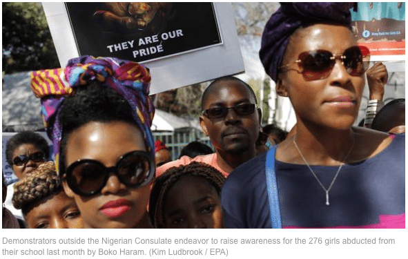 Heroic Nigerian women stand up to Boko Haram.