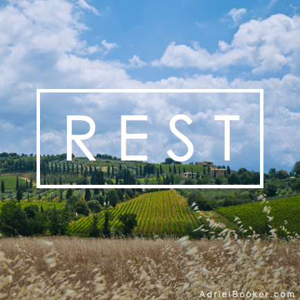 The Work of Rest - The art of cultivating Selah in a restless heart