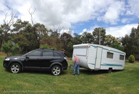 Adriel Booker - Living in a Caravan-Camper tiny home