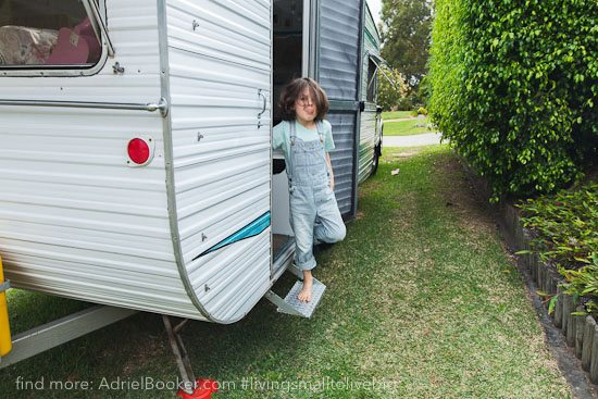 Tiny house, big love- life in our renovated vintage caravan — Adriel Booker-7