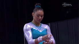 2015 Secret US Classic: Ross trouble on Uneven Bars
