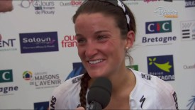 2015 Grand Prix de Plouay: Armitstead interview
