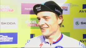 2015 Tour of Britain: Stage 2: Vakoc interview