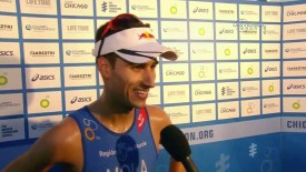 2015 World Triathlon Series: Chicago: Mola interview