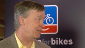 Interbike 2015: John Hickenlooper, Colorado Governor