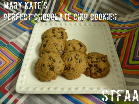 Mary Kate's Perfect Chocolate Chip Cookies