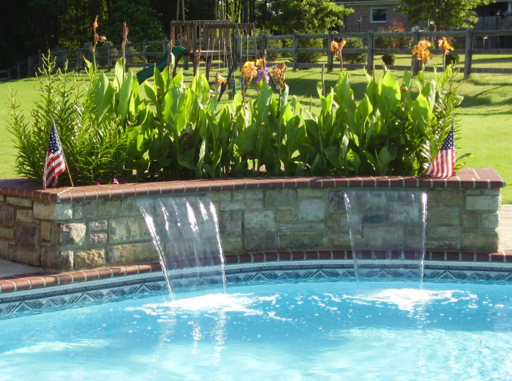 Picturesque Water Feature Swimming Water Features Tn Advanced S Memphis Tn Water Features Spouts Water Features Cost houzz 01 Pool Water Features