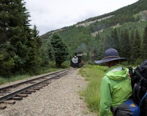 Bagging Peaks by Train in the Colorado Rockies