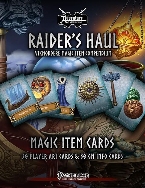 IWG Magic Item Cards