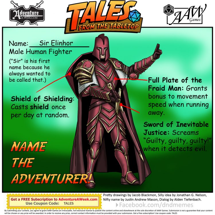 Caption for Tales from the Tabletop #49.
