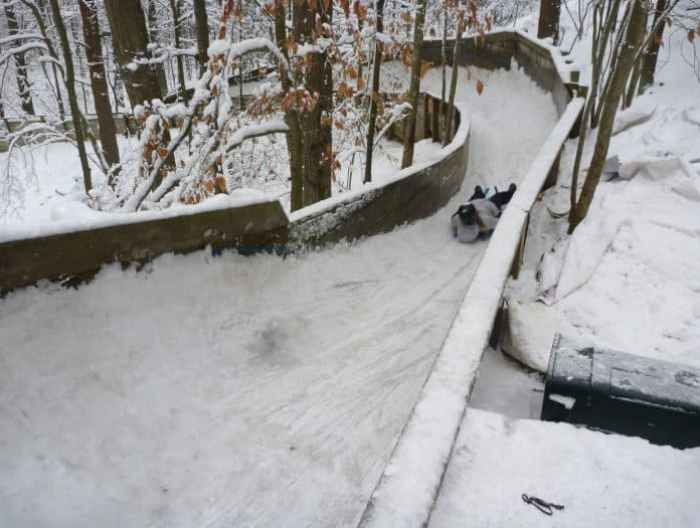 try the luge at Muskegon Winter Sports Complex