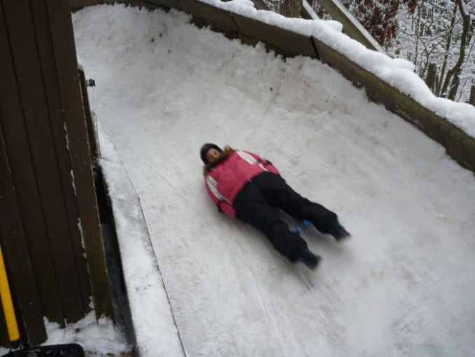 try the luge Muskegon Winter Complex Muskegon Michigan
