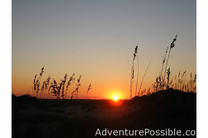 lea island sunset