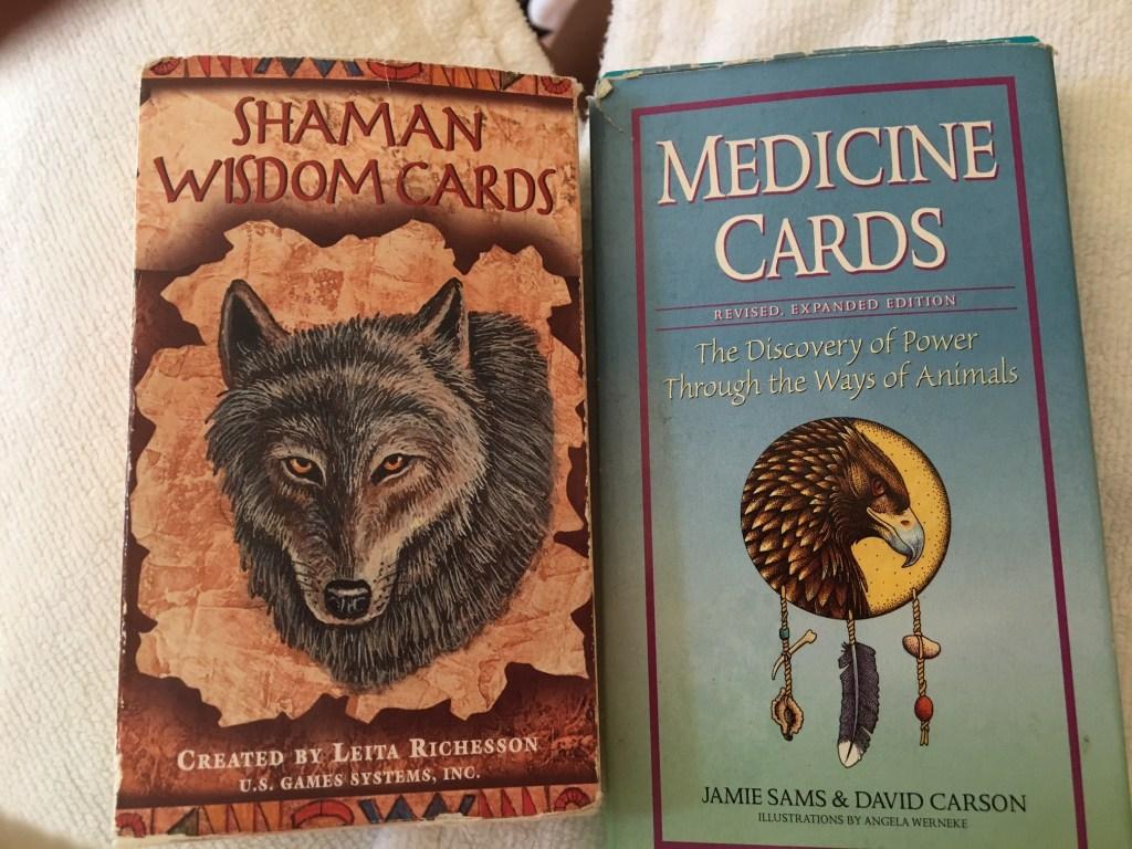 Spiritual Journey Spa Service Cards.