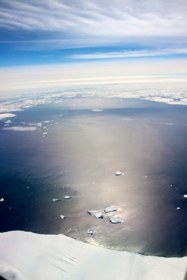 View over Antarctica