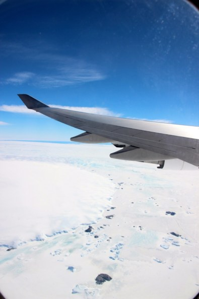View on Antarctica Flights