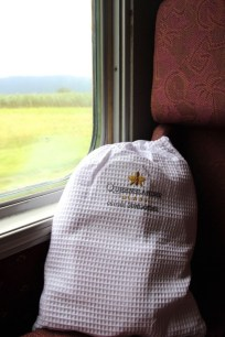 Queenslander Class robe on Sunalnder Train
