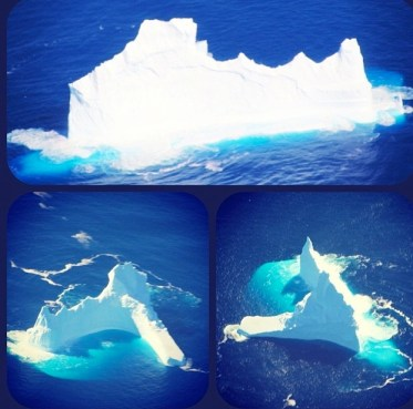 Iceberg at Magnetic South Pole