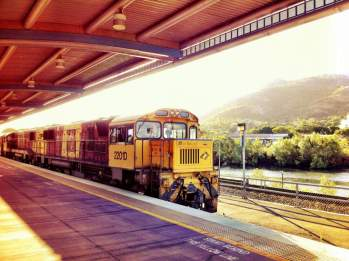 Queensland's Sunlander Train