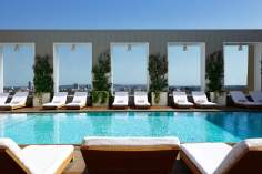 Skybar pool, WeHo, photo courtesy of Mondrian Hotel
