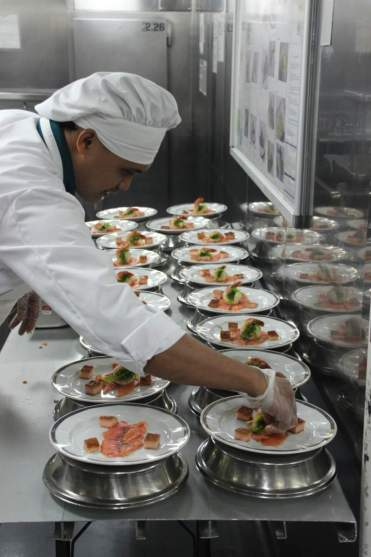 HAL Cruises Galley Tour