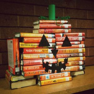 book jack o lantern