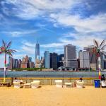 Water Taxi Beach on governorsisland Not a bad place tohellip