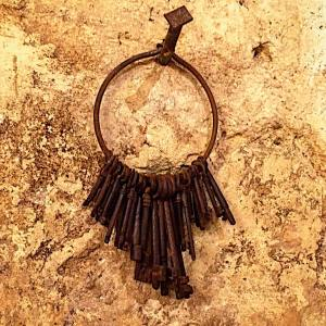 Ancient keys intrigue me I wonder what mysteries they concealhellip