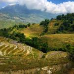 The dreamy landscape around Sapa My trek with buffalotours washellip