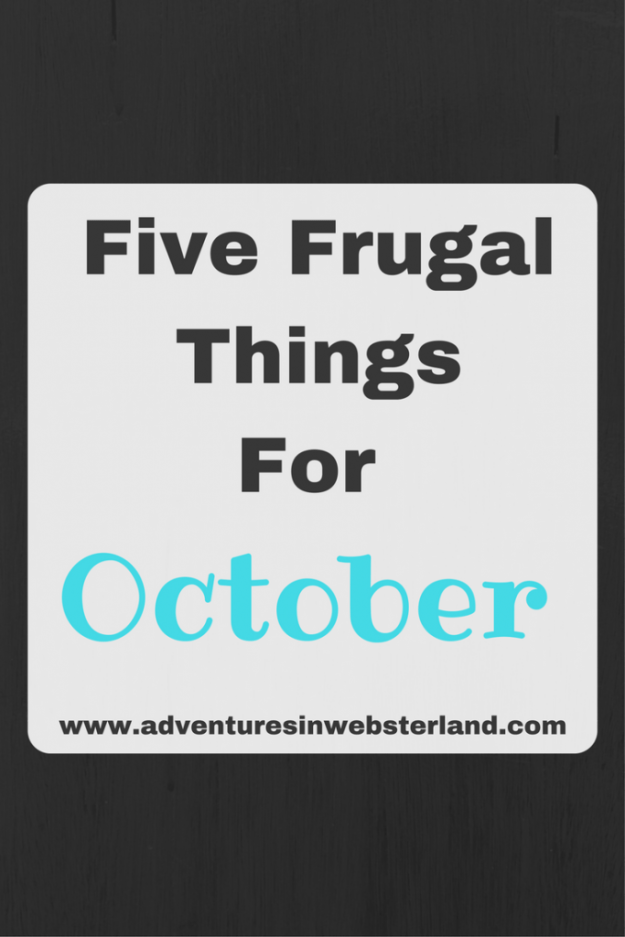 five-frugalthingsfor
