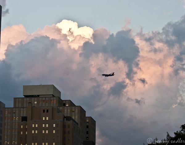 Dallas storm clouds ©pennysadler 2012