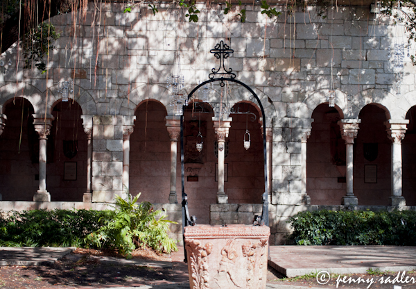 The wishing well at the Ancient Spanish monastery in Miami, Fl. ©pennysadler2013