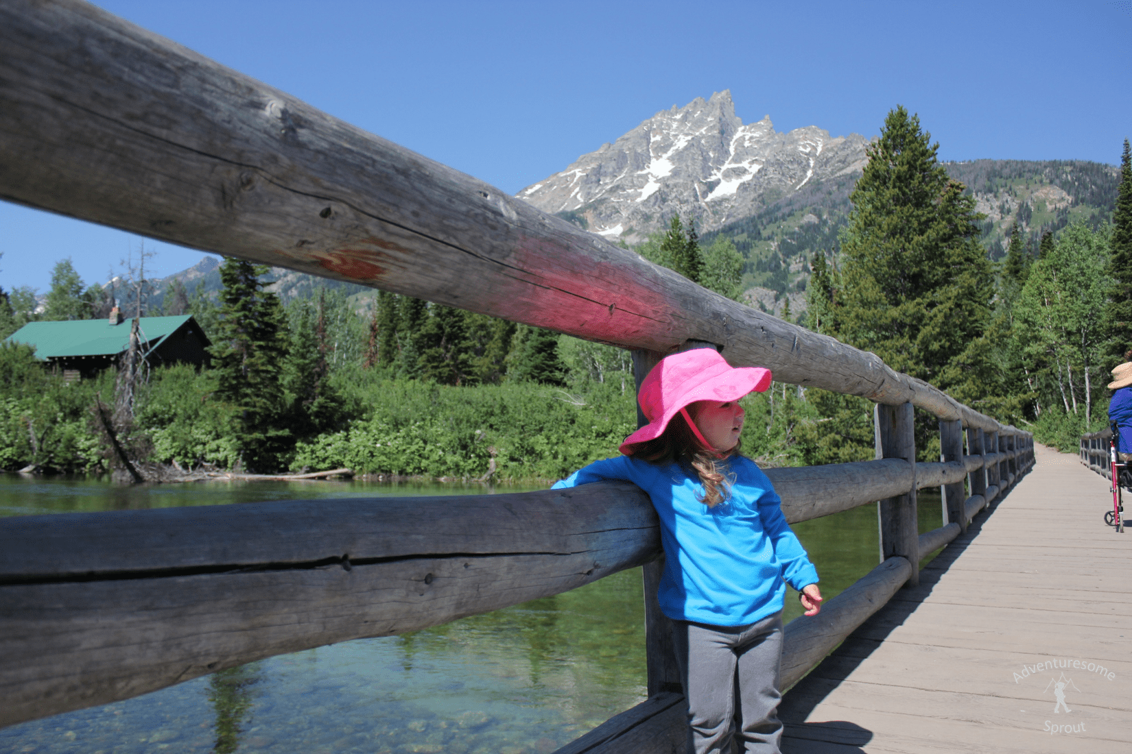 Grand Tetons: Jenny Lake Trail to Inspiration Point/ Cascade Canyon Trail