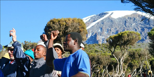 climb kilimanjaro 7-day Machame group