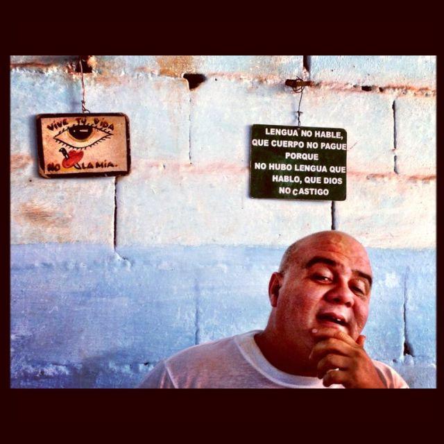 Cuban vegetable vendor