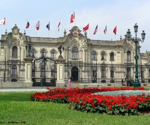 El Palacio de Gobierno del Perú, llamado también Casa de Gobierno