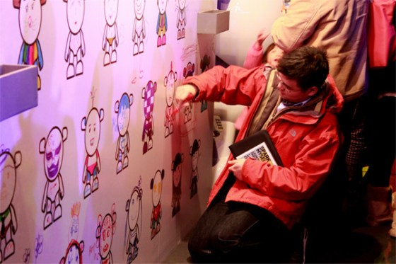 Chevrolet China - SPARK MYSELF Launch Party (Grafitti Wall) 6