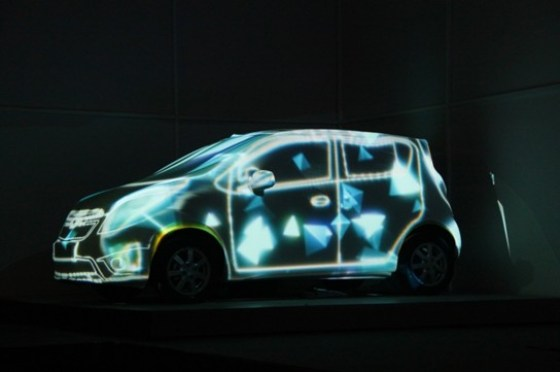 Chevrolet China - SPARK MYSELF Launch Party (Light Show) 3