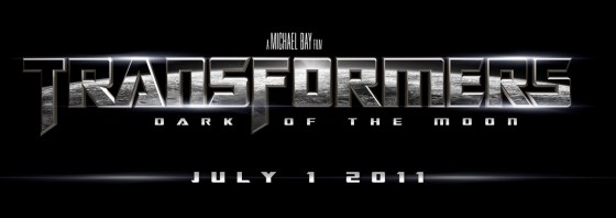 Transformers: Dark Of The Moon Official Movie Logo