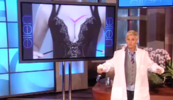 Ellen - Chinese Infomercial (The Boob Clamp)
