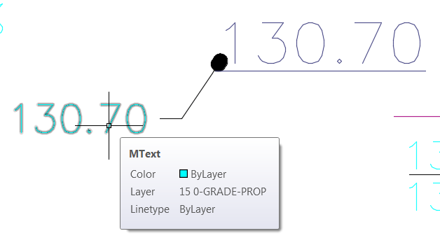 Convert MTEXT to COGO Points in Civil 3D