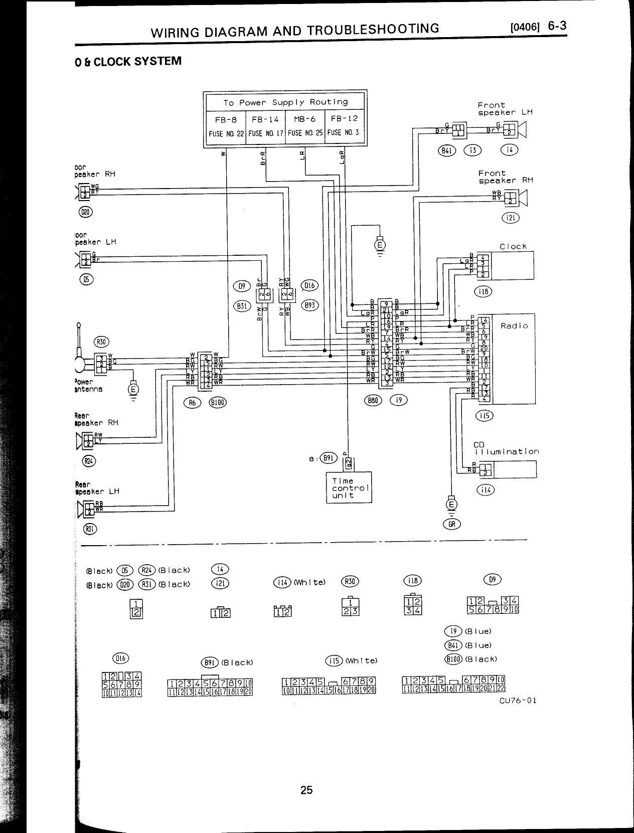 subaru svx wiring diagram schematics online Subaru SVX Suspension Diagram