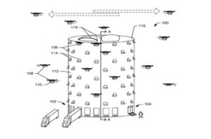 Amazon Drone Tower Patent