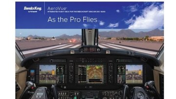 AeroVueTM integrated flight deck offering for the Citation product line.