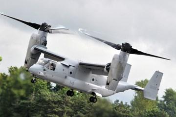 Bell to test new blades for V-22 Osprey